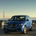 The BMW X5 M. The BMW X6 M.