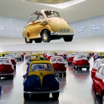 BMW Isetta image campaign launched by the BMW Museum. Making of.