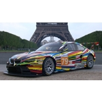 The 17th BMW Art Car created by Jeff Koons (2010)