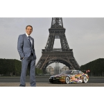 The 17th BMW Art Car created by Jeff Koons