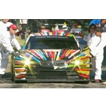 The 17th BMW Art Car at the Festival of Speed in Goodwood, UK.