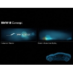 BMW i8 Concept, Center Information Display