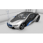 BMW i8 Concept, Plug-in-Hybrid, German