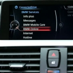 BMW ConnectedDrive. Message dictation function.