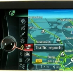 BMW ConnectedDrive. RTTI - Real Time Traffic Information.