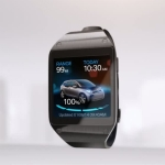 Samsung Galaxy Gear with BMW i Remote App functions