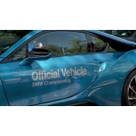 B-Roll: 2014 BMW Championship. Video interview with Rory McIlroy in the BMW i8.