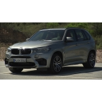 The new BMW X5 M. The new BMW X6 M.