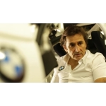 First preparations of Alessandro Zanardi to compete at the 24 Hours of Spa-Francorchamps.