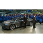 Feature: Start of Production of the new BMW 7 Series at Plant Dingolfing.