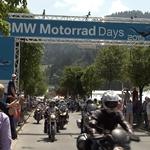 The 15th BMW Motorrad Days from July 3 to 5 in Garmisch-Partenkirchen. (07/2015)