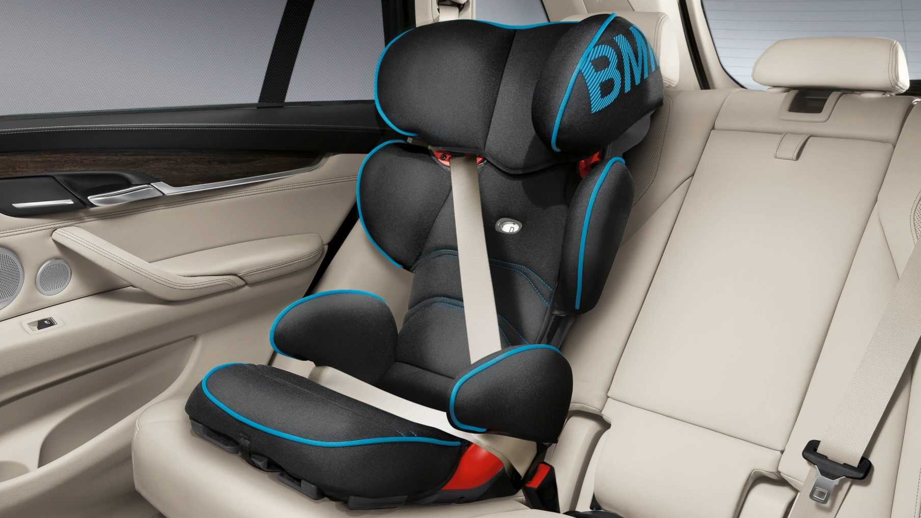 online clip bmw baby seat 0+ with isofix base. bmw junior seat 2/3