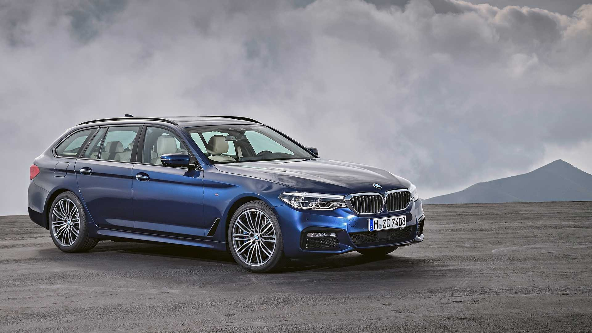 Feature The New Bmw 5 Series Touring