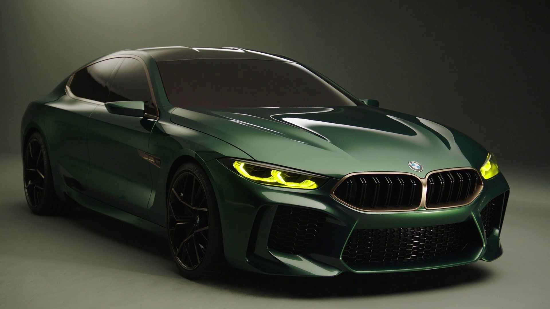 BMW Concept M8 Gran Coupe.