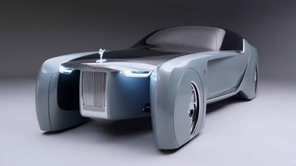 The Rolls-Royce VISION NEXT 100. Making-of