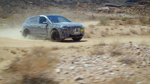 Hot climate testing of the BMW iNEXT (60 sec)