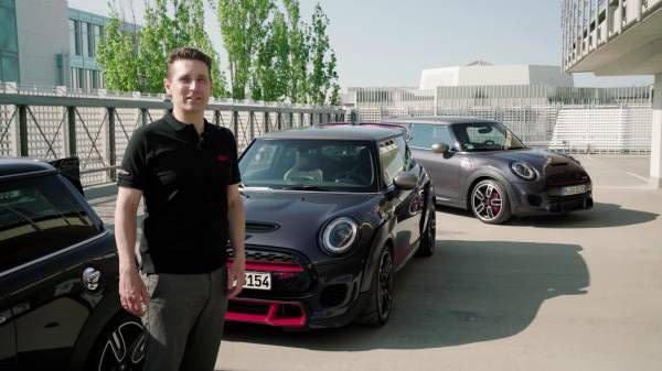 The new John Cooper Works GP Pack - Roundabout.