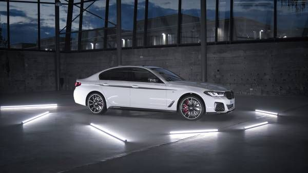 The BMW 5 Series Sedan, BMW M Performance Parts.
