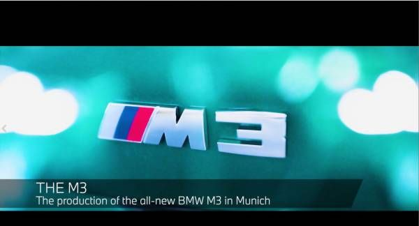 Manufacturing Process of the new BMW M3 at BMW Group Plant Munich.