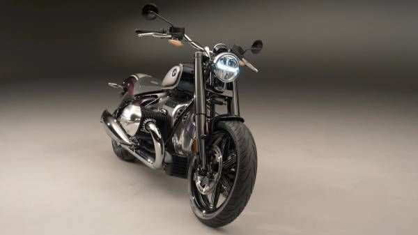 The BMW R 18 with high-grade Option 719 parts.